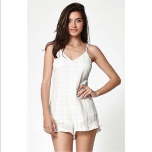 NWT Kendall + Kylie textured Romper